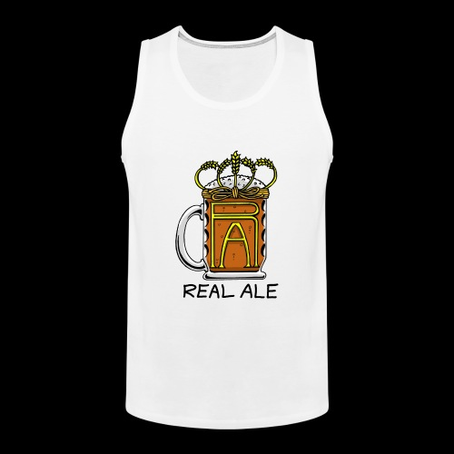 Real Ale - Men's Premium Tank Top