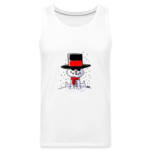 snowbaby hat - Mannen Premium tank top
