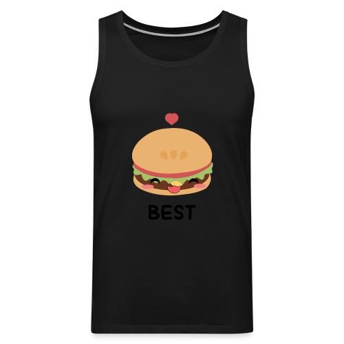 hamburger - Canotta premium da uomo