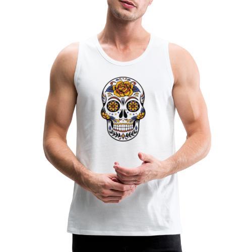 skull mexiko mexico - Männer Premium Tank Top