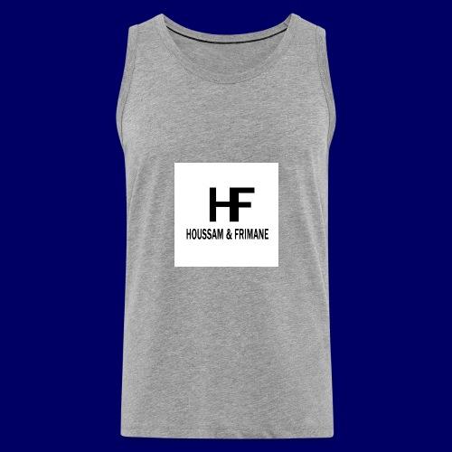 H&F - Canotta premium da uomo