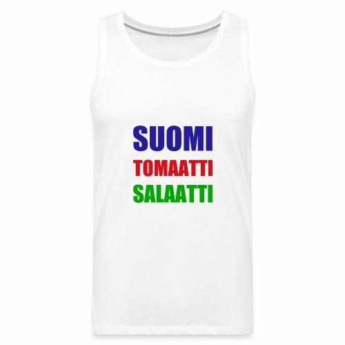 SUOMI SALAATTI tomater - Premium singlet for menn
