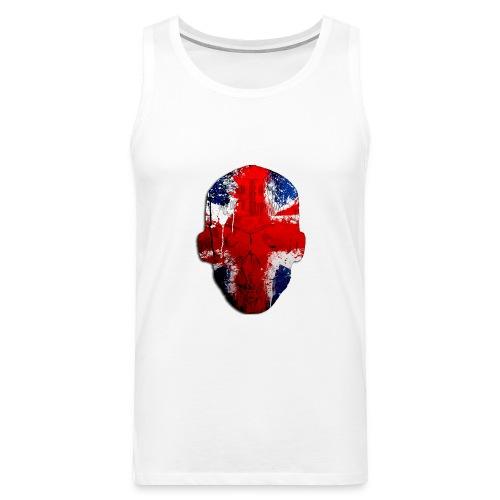 Borg recordings uk Union flag MetaSkull T Shirt - Men's Premium Tank Top