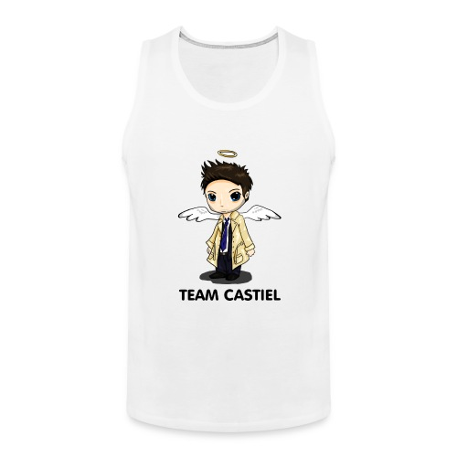 Team Castiel (light) - Men's Premium Tank Top