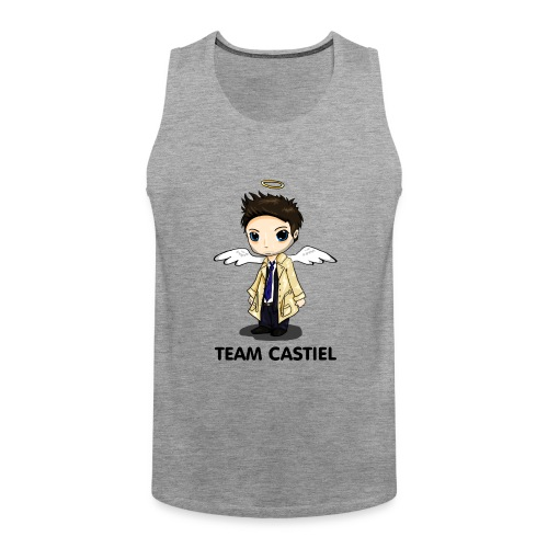 Team Castiel (light) - Men's Premium Tank Top