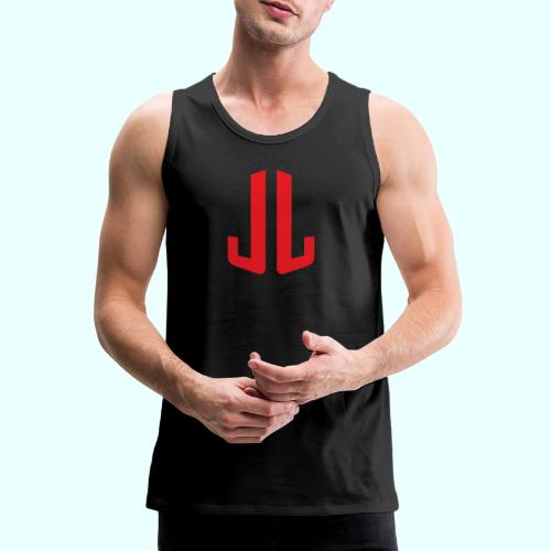 JL + NEXT LEVEL BODY - Miesten premium hihaton paita