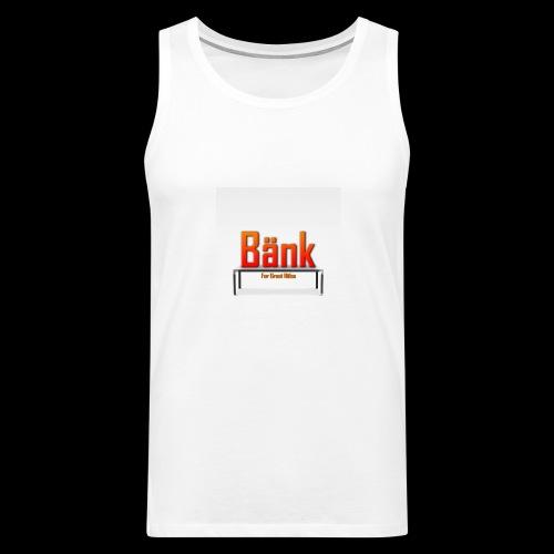 Bänk - Premiumtanktopp herr