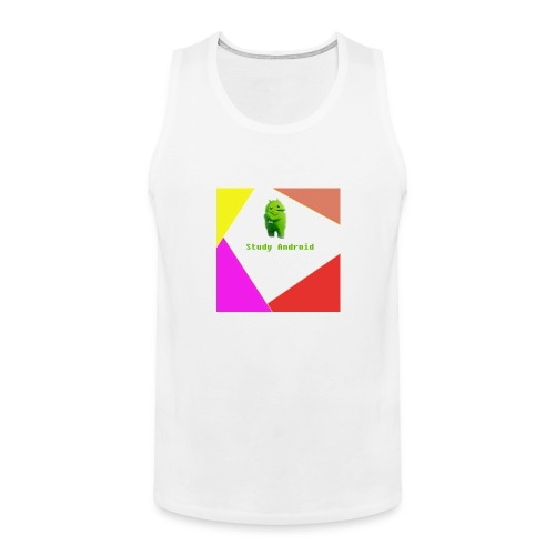 Study Android - Tank top premium hombre