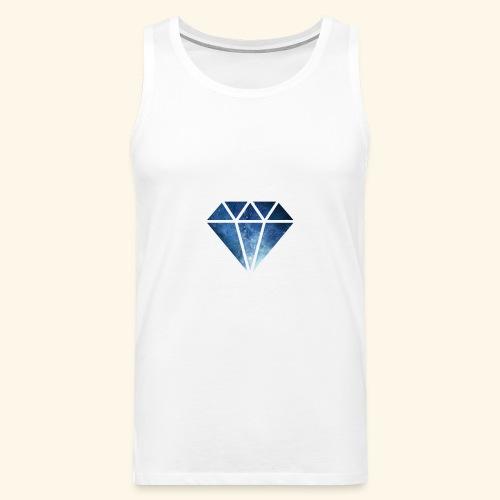 Galaxie Diamant - Männer Premium Tank Top
