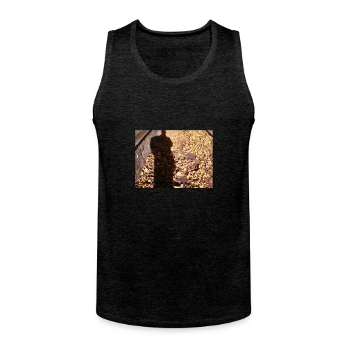 THE GREEN MAN IS MADE OF AUTUMN LEAVES - Men's Premium Tank Top