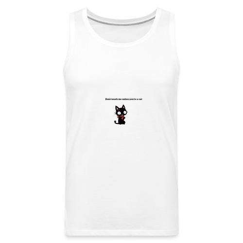 Imnotacat Tshirt - Premiumtanktopp herr