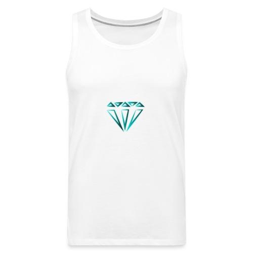 diamante - Canotta premium da uomo