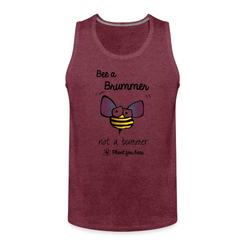 Bees6 - Save the bees - Men's Premium Tank Top