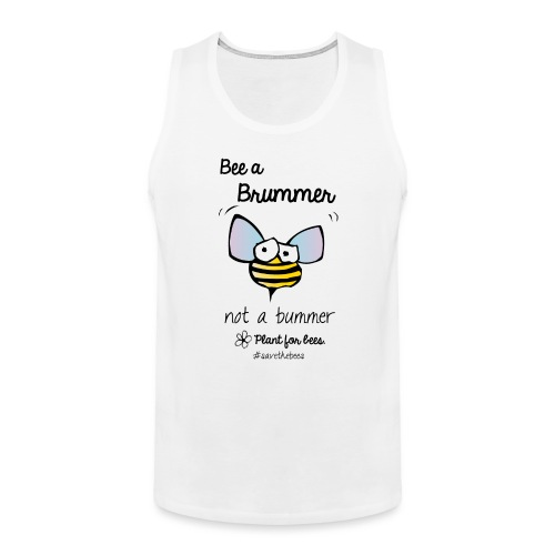 Bees6-2 Save the bees - Men's Premium Tank Top