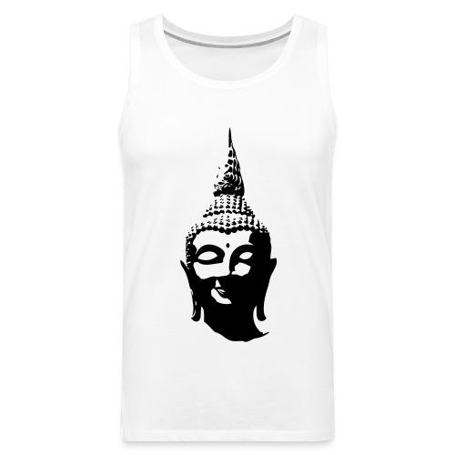 Boeddha hoofd - Mannen Premium tank top
