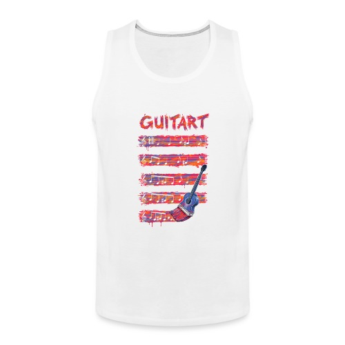 GuitArt - Men's Premium Tank Top