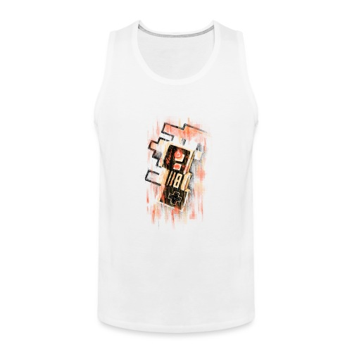 Blurry NES - Men's Premium Tank Top