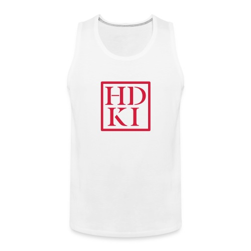 HDKI logo - Men's Premium Tank Top