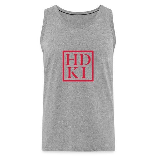 HDKI logo - Men's Premium Tank Top