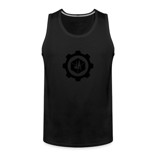 Jebus Adventures Logo (Transparent) - Men's Premium Tank Top