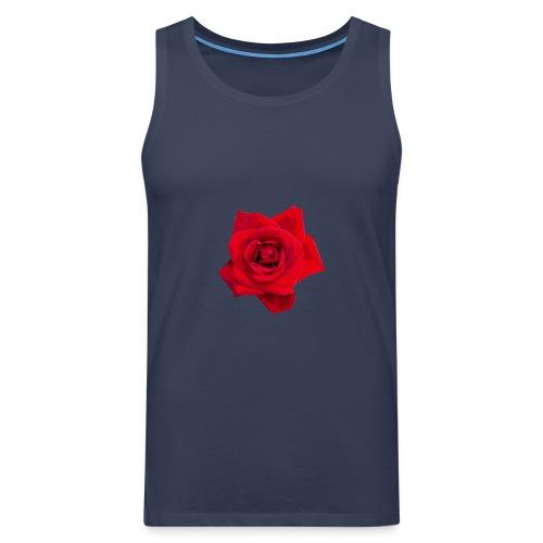 Red Roses - Tank top męski Premium