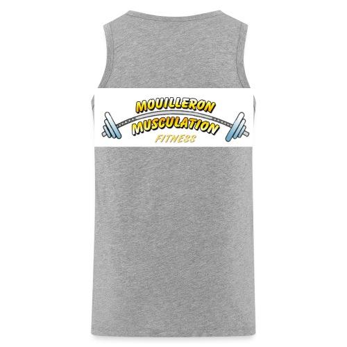 mouilleron muscu logo pour tee shirt 311 - Débardeur Premium Homme
