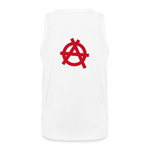 Anarchy symbol - red - Men's Premium Tank Top