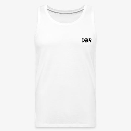 DBR Schriftzug png - Männer Premium Tank Top