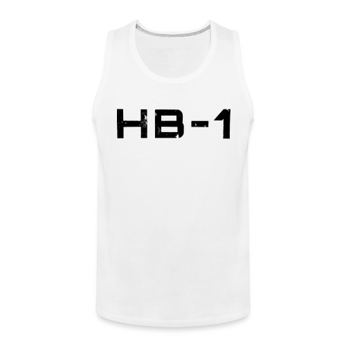 HB1 TRACED 4000 png - Männer Premium Tank Top