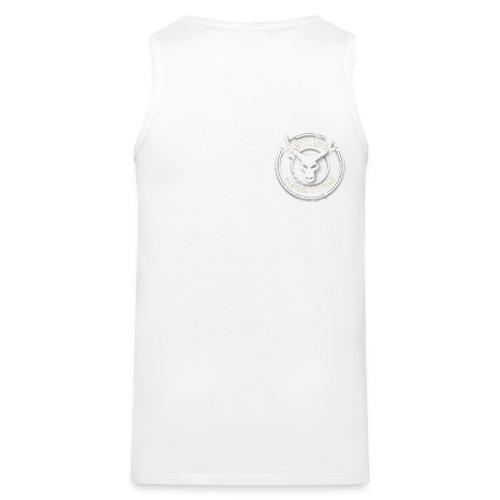 Logo weiß png - Männer Premium Tank Top