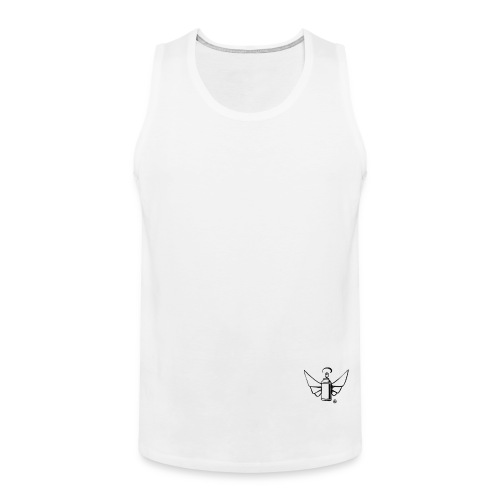 Flying Can Logo Strike Ar - Männer Premium Tank Top