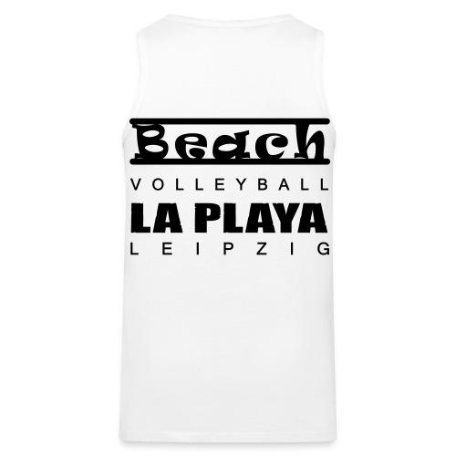 Beachvolleyball La Playa Strand Shop - Männer Premium Tank Top