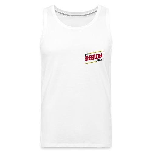 baron logo ai klein kleur - Mannen Premium tank top
