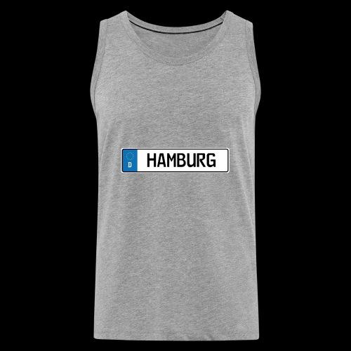 Kennzeichen Hamburg - Männer Premium Tank Top