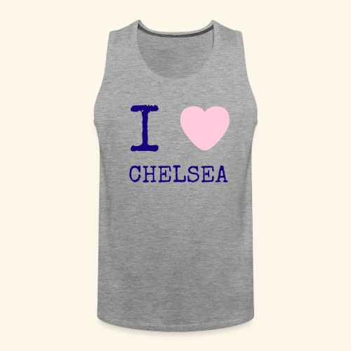 I Love Chelsea 2017 - Men's Premium Tank Top