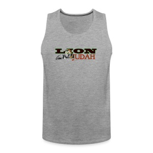 Tribal Judah Gears - Men's Premium Tank Top