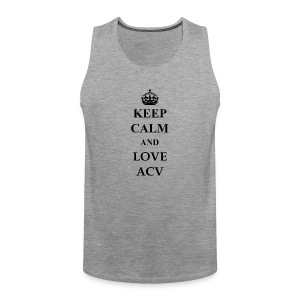 Keep Calm and Love ACV - Männer Premium Tank Top
