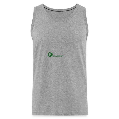 Logo DomesSport Green noBg - Männer Premium Tank Top