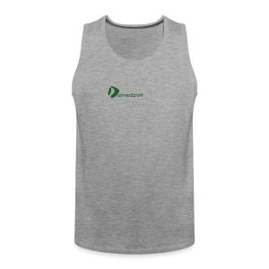 Logo DomesSport Green noBg - Männer Premium Tank Top