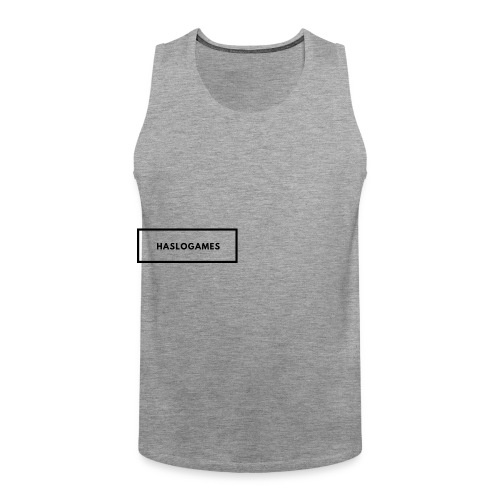HasloGames White/Black edition! - Mannen Premium tank top