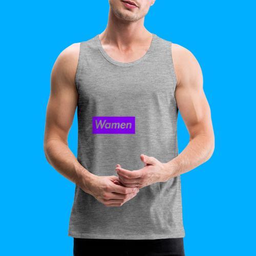 Wamen T-Shirt Design - Men's Premium Tank Top