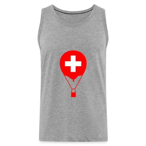 Gasballon im schweizer Design - Männer Premium Tank Top