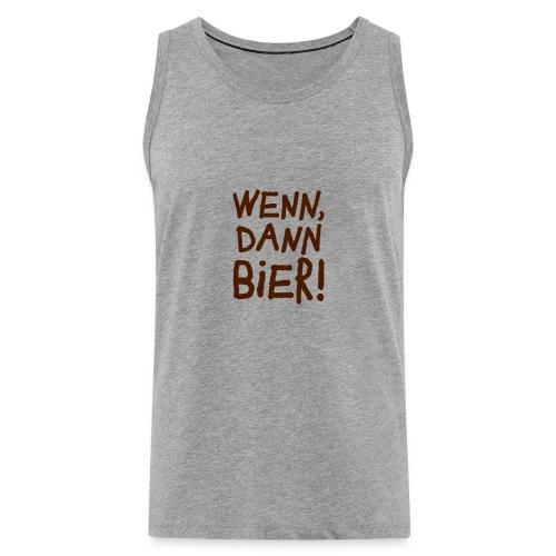 Bier Garten Grillmeister Sommer Party - Men's Premium Tank Top