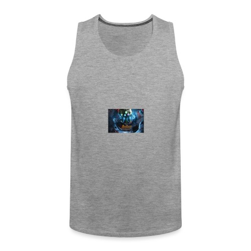 infinity war taped t shirt and others - Men's Premium Tank Top