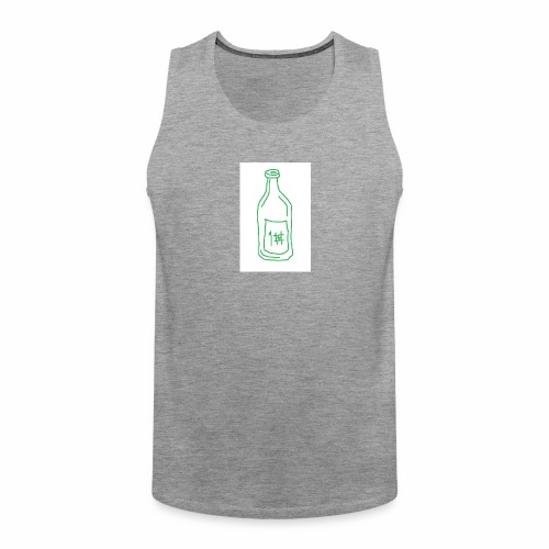 Alkoholi - Miesten premium hihaton paita