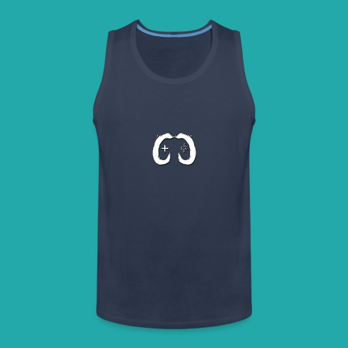 Crowd Control Logo - Men's Premium Tank Top