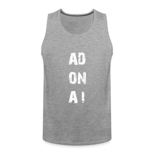 AD ON AI - Männer Premium Tank Top