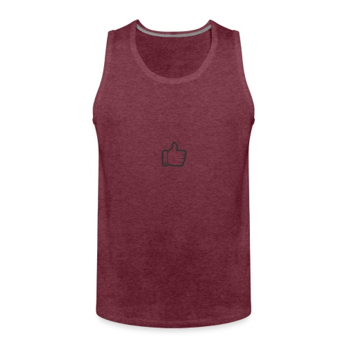 Like button - Mannen Premium tank top
