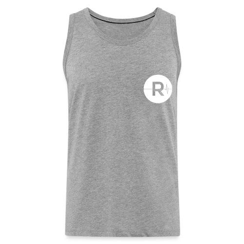 REVIVED Small R (White Logo) - Men's Premium Tank Top