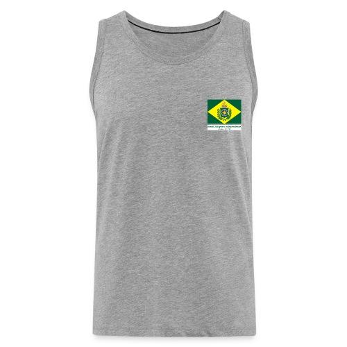Brazil 200 years independence - Premium singlet for menn